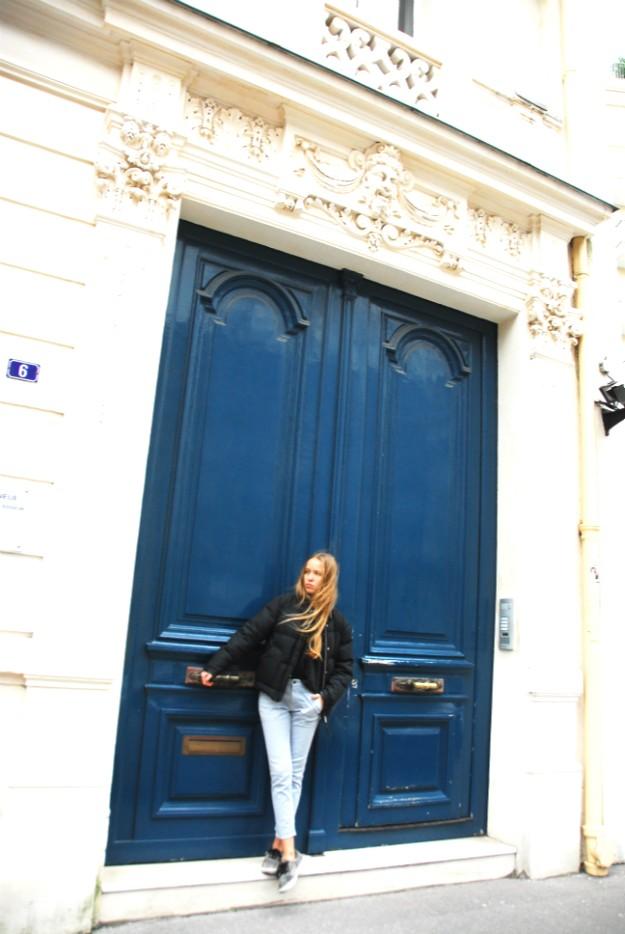 Paris, the red lip classic