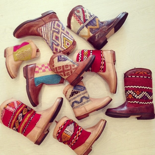 Kilim Boots