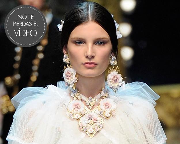 Desfile de Dolce & Gabbana Otoño-Invierno 2012/2013