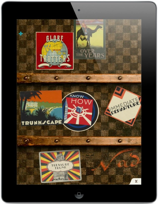 Louis Vuitton llega a iPad