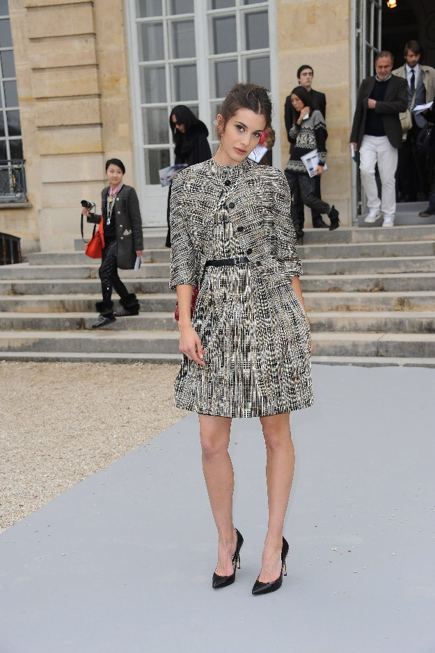 Sonja Kinski en la Paris Fashion Week