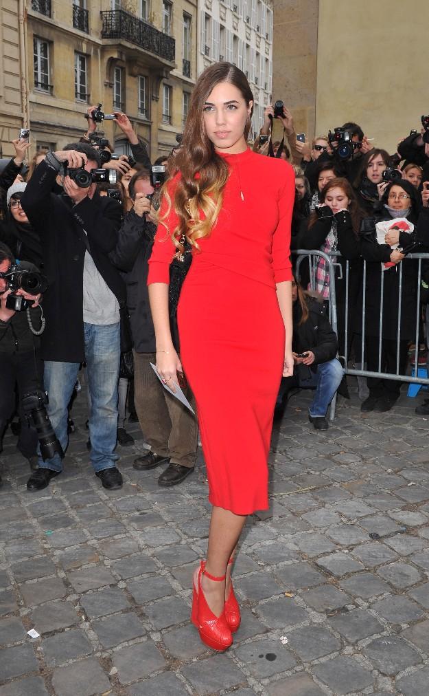 Amber Lebon en la Paris Fashion Week