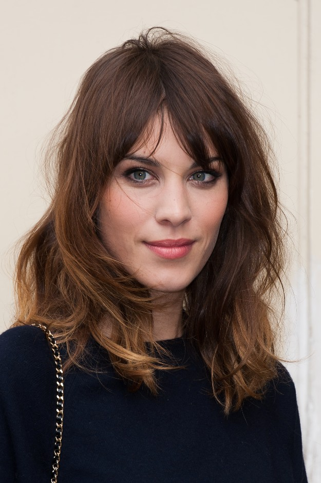 Alexa Chung optó por su estilo effortless-chic