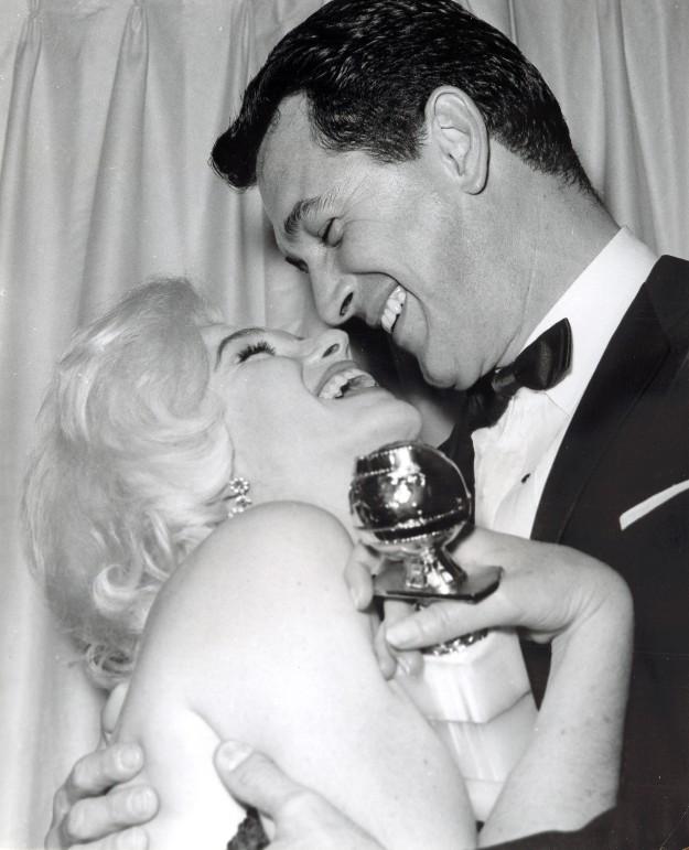 Marilyn Monroe y Rock Hudson