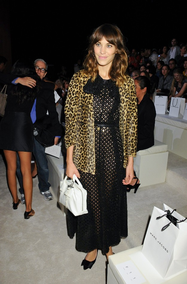 Alexa Chung - Mercedes Benz Fashion Week - NYFW