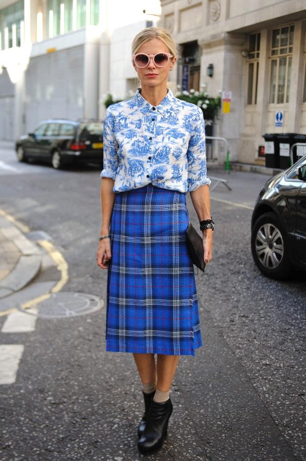 Laura Bailey - London Fashion Week - LFW