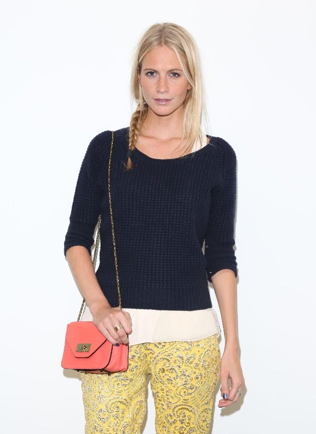Poppy Delevingne - London Fashion Week - LFW