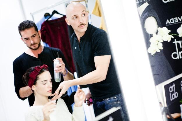Look beauty - maquillaje - Ricardo Calero para Nicolas Vaudelet