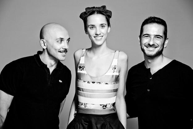 Look beauty de Nicolas Vaudelet by Ricardo Calero & Luciano de Paoli