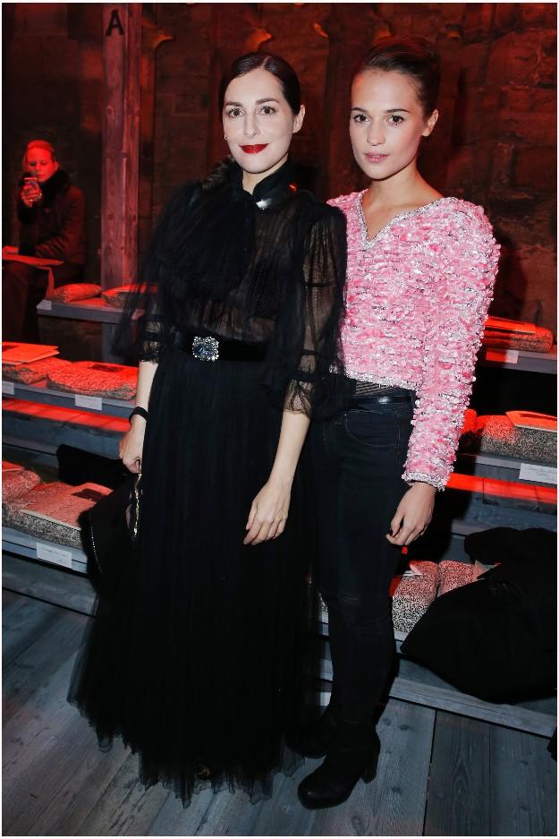 Amira Casar & Alicia Vikander - CHANEL