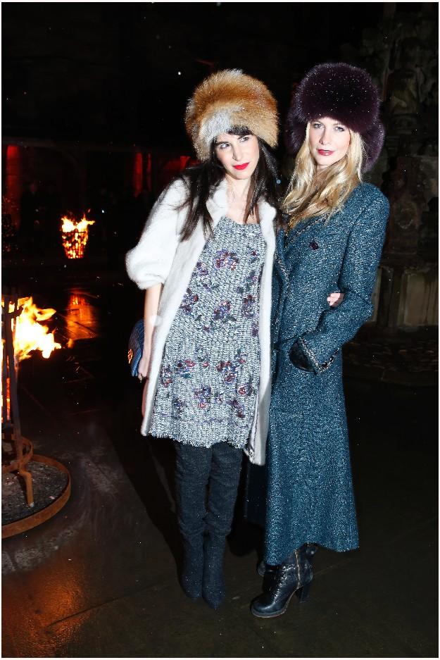 Caroline Sieber & Poppy Delevingne - CHANEL
