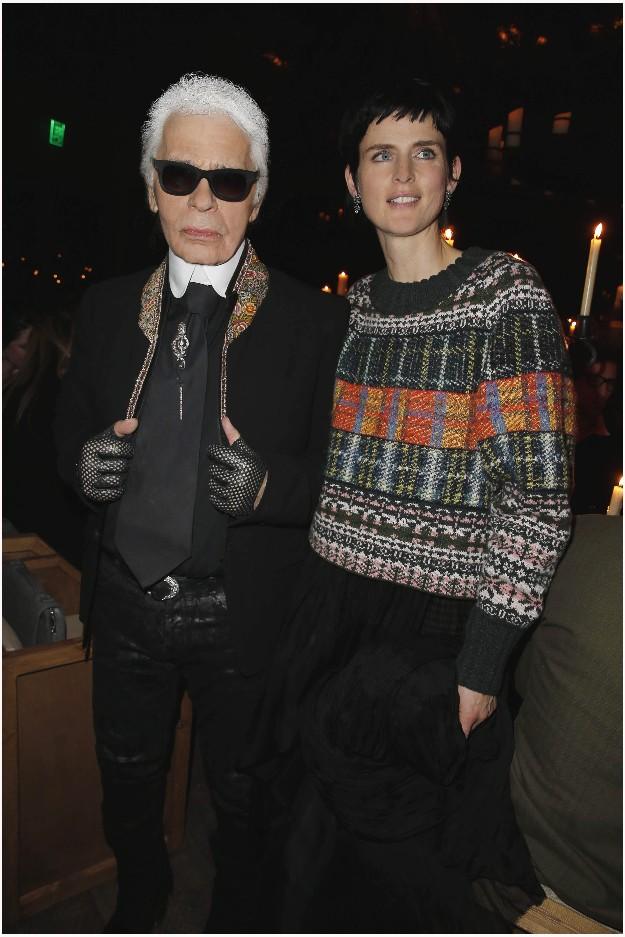 Karl Lagerfeld & Stella Tennant - CHANEL