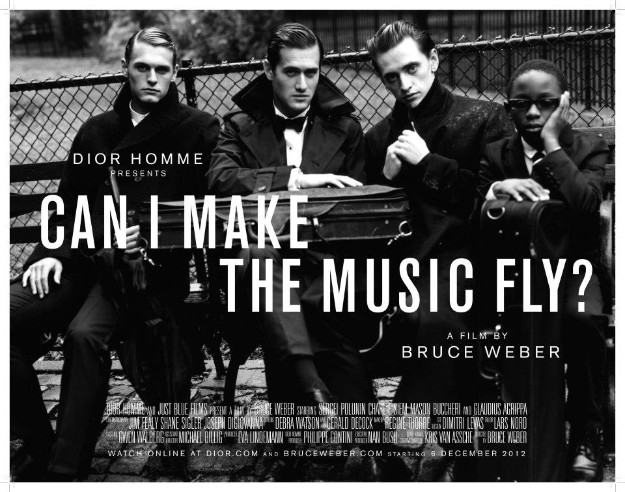 CAN I MAKE THE MUSIC FLY? - DIOR HOMME