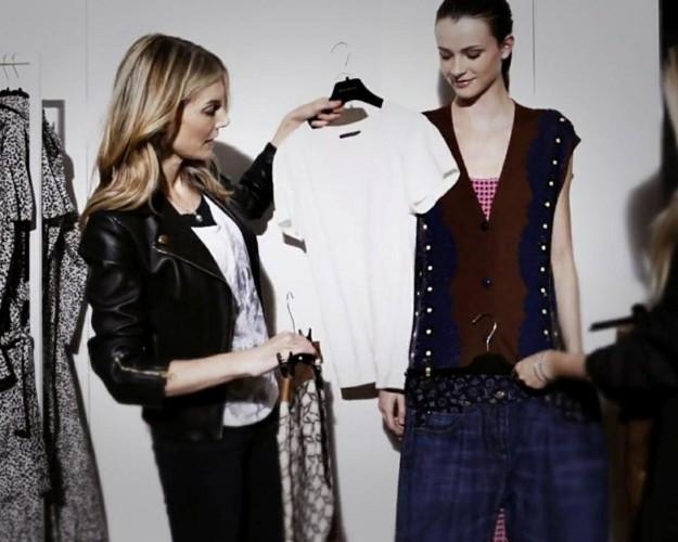 La estilista VIP y editora de moda Kim Hersov