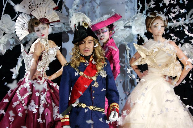 John Galliano para Dior Alta Costura