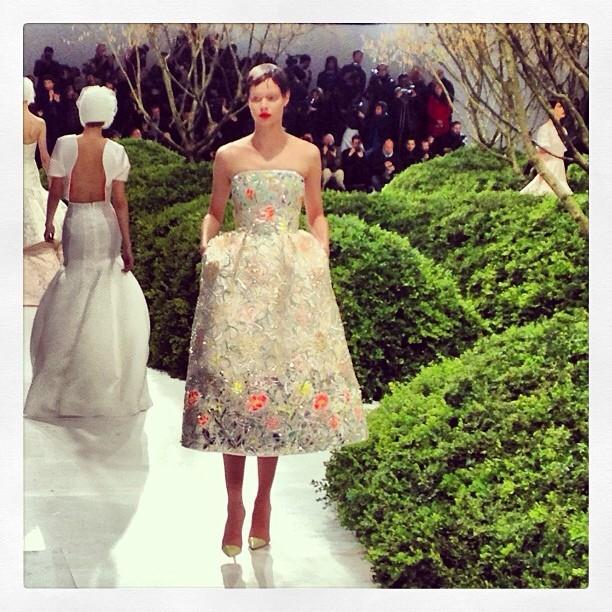 Dior Haute Couture SS13 via @Emmanueltalia //Instagram