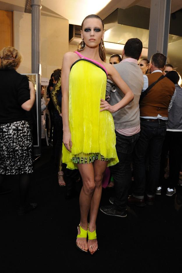 Versace Atelier SS2013 - Alta Costura de París - Backstage