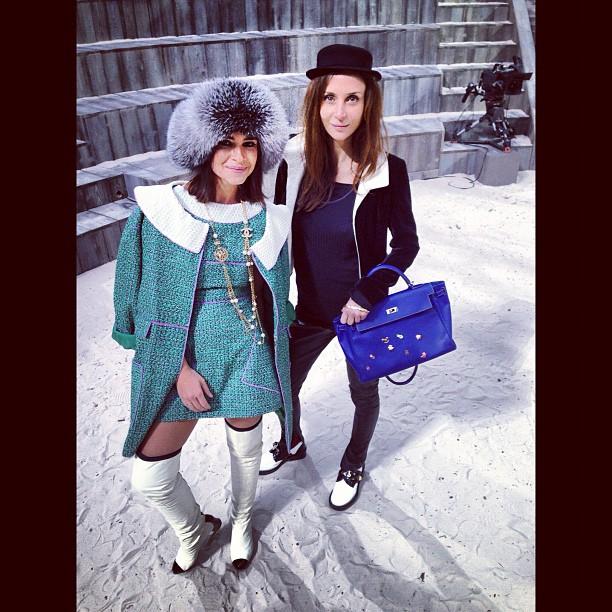 Miroslava Duma de CHANEL - CHANEL Haute Couture SS2013