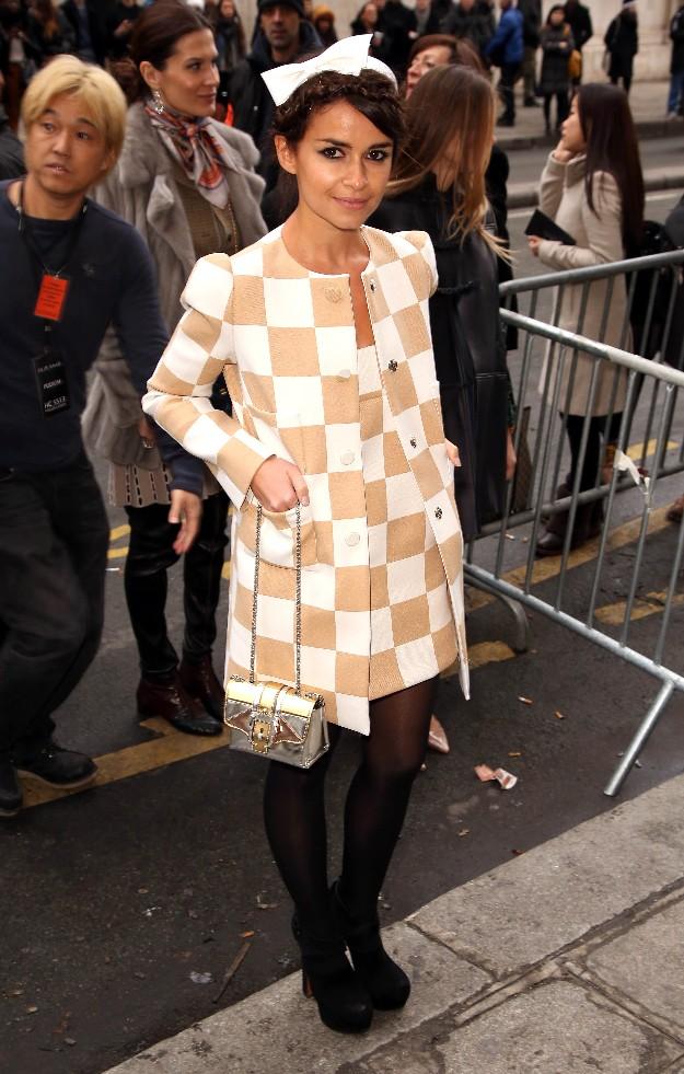 Miroslava Duma de Louis Vuitton - Alta Costura de París SS2013
