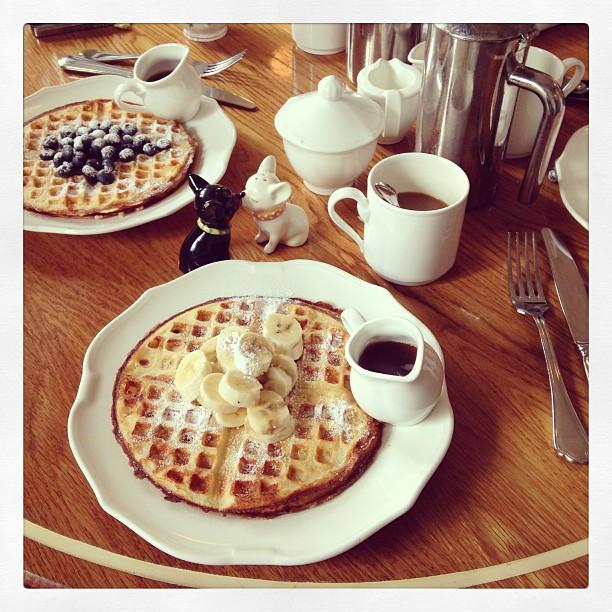 El desayuno de Chiara Ferragni
