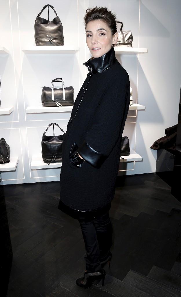 Clotilde Courau - Karl Lagerfeld Boutique - PFW