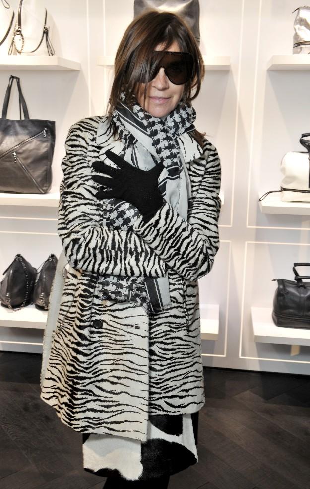 Carine Roitfeld - Karl Lagerfeld Boutique - PFW
