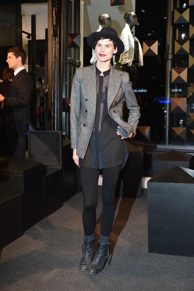 Saskia De Brauw - Karl Lagerfeld Boutique