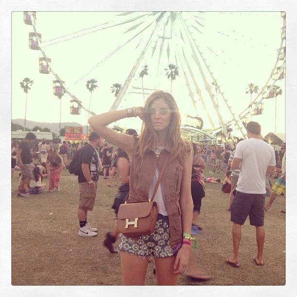 Hermès Constance bag @CHIARAFERRAGNI Instagram