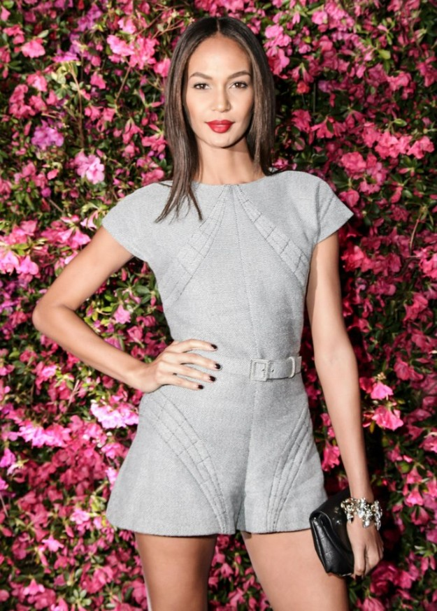 Joan Smalls wearing a jumpsuit from the SS 2013 Pre-Collection