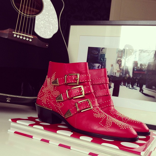 Andy Torres - Style Scrapbook - Chloé Susanna Boots