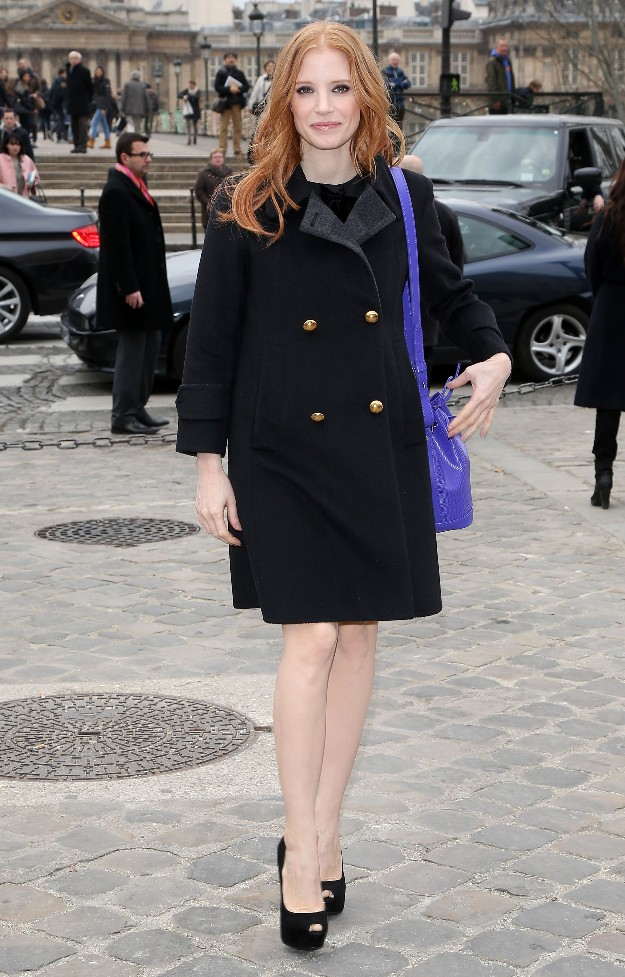 Jessica Chastain - Noe bag, Louis Vuitton