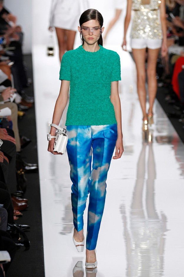 Michael Kors - Aquatic print - SS13