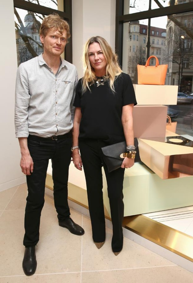 Creative Director Emma Hill and artist Frank Hulsbomer