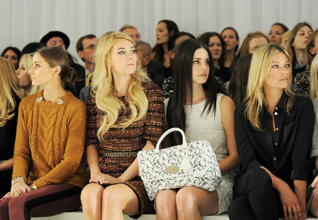 Mulberry front-row