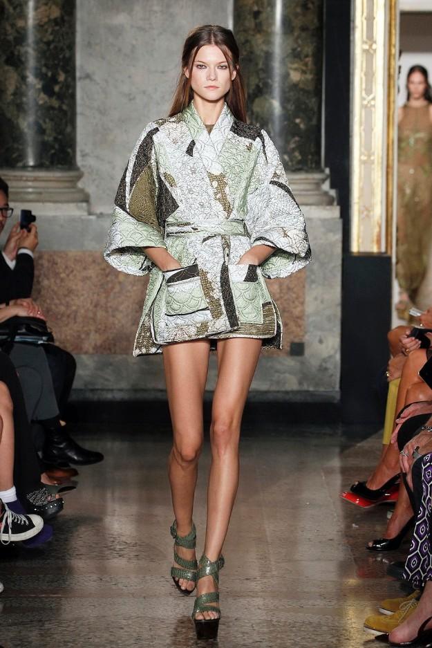 Emilio Pucci SS13 - Kimono