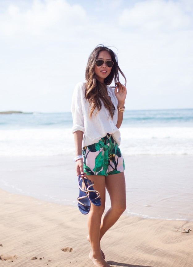 Aimee Song - Song Of Style - Adlib + tropical print