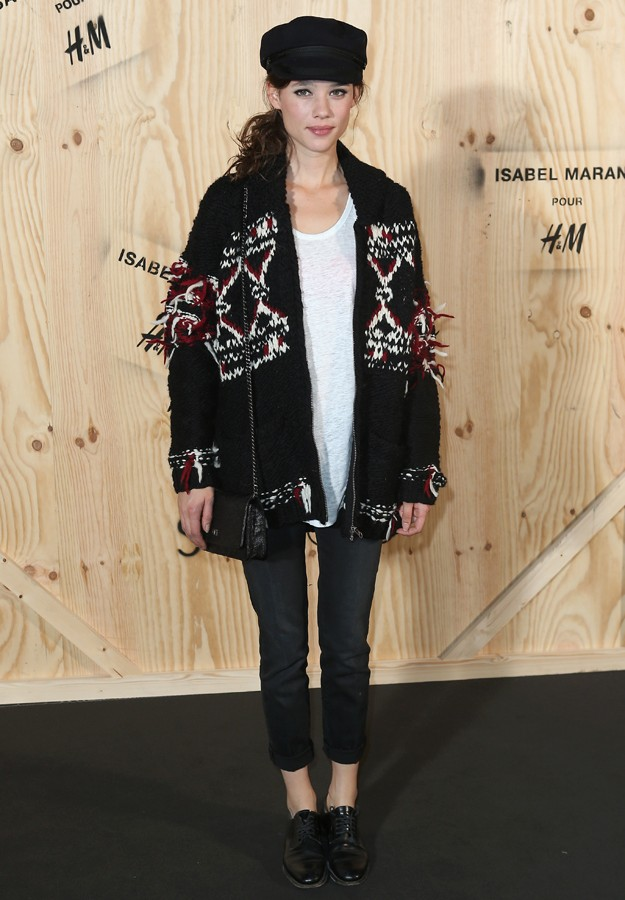 "Astrid Berges during presentation "" IsabelMarant "" colection for "" H&M """