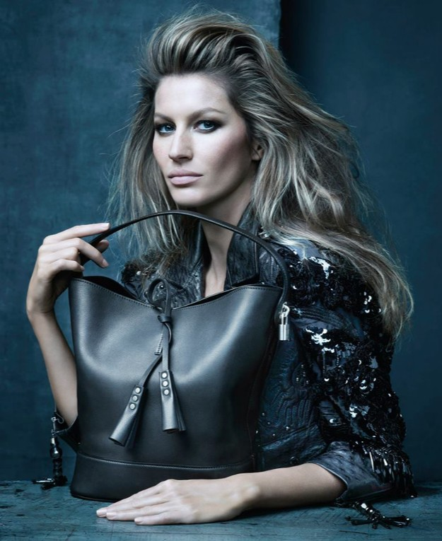 Marc Jacobs' muse Gisele Bündchen in the Louis Vuitton SS 2014 Campaign, shot by Steven Meisel