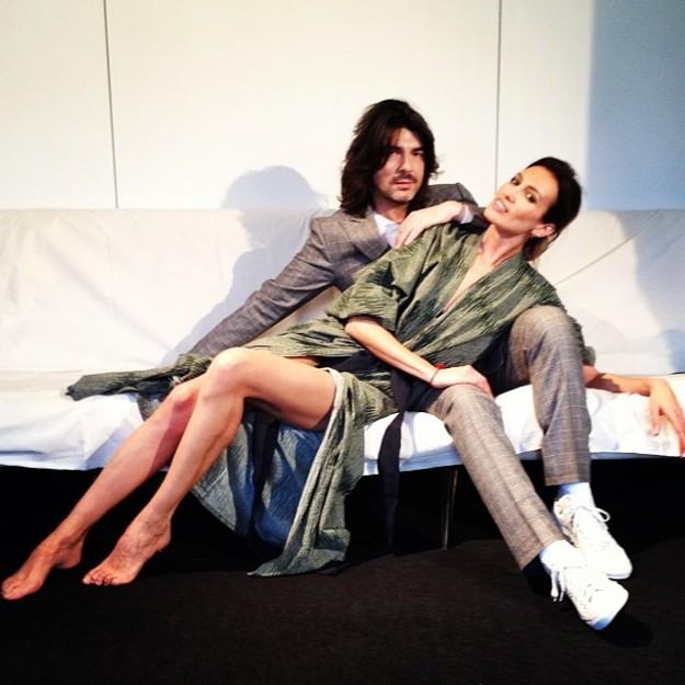 Stéphane Rolland y Nieves Álvarez - @officialnievesa on Instagram