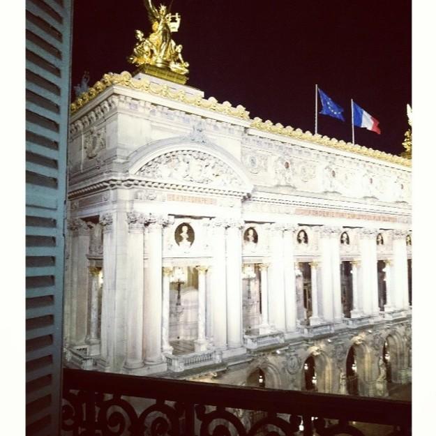 Las vistas desde el hotel de París de Nieves Álvarez - @officialnievesa on Instagram