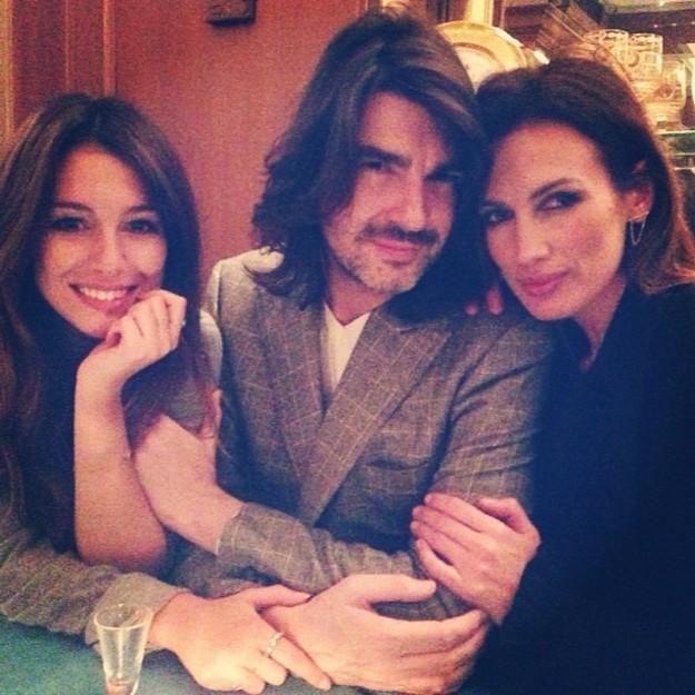 Blanca Suárez, Stéphane Rolland y Nieves Álvarez - @Blanca_Suarez on Instagram