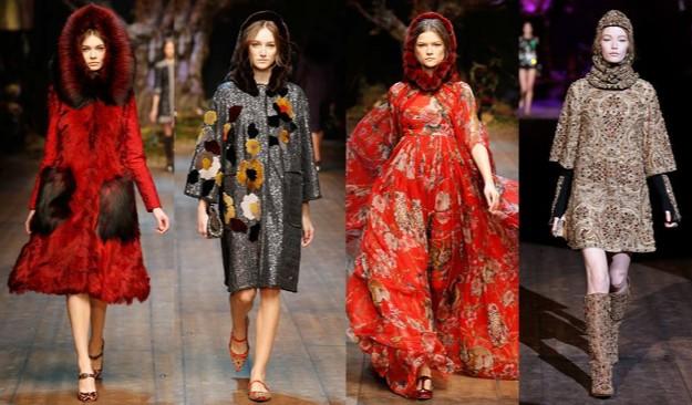 Dolce&Gabbana - Milan Fashion Week - otoño-invierno 2014/2015