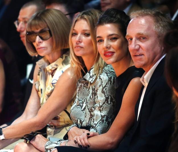 Anna Wintour, Kate Moss, Carlota Casiraghi y Daniel Craig