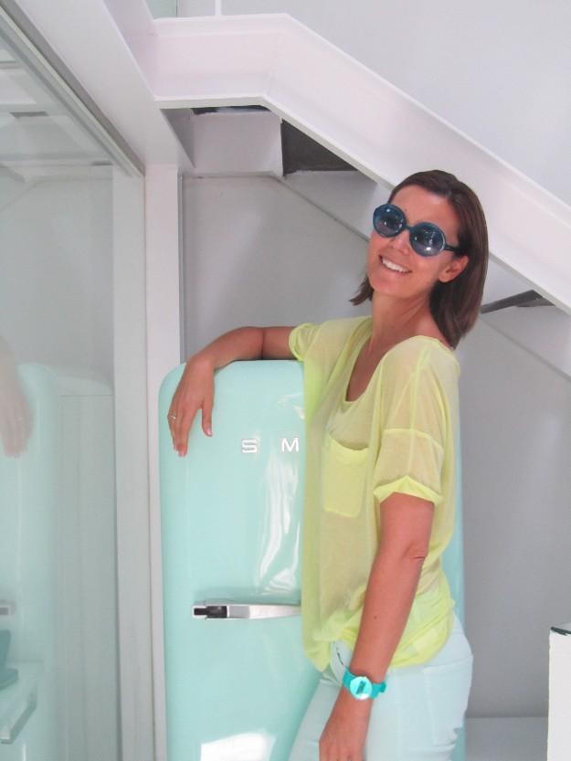 Look verano con gafas de sol de Custo Barcelona