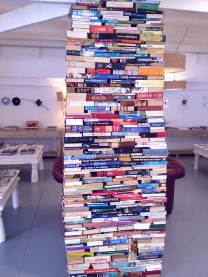 Torre de libros