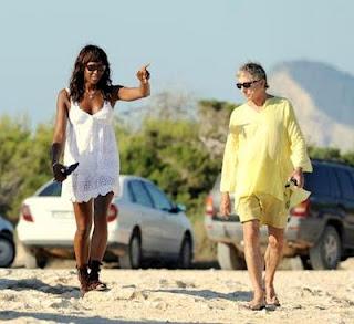 Carlos Martorell y Naomi Campbell (Vía/Blog Carlos Martorell)