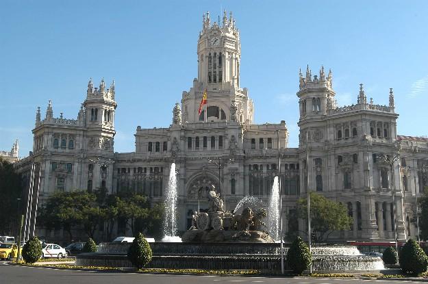 Palacio de Cibeles de Madrid (Vía madrid.es)