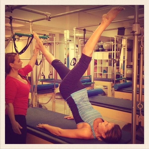 Clase de Pilates con Isabel