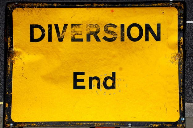Diversion end (Vía pasotraspaso / Fickr)