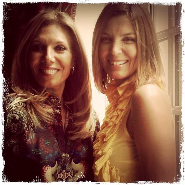 Con Maribel Yébenes